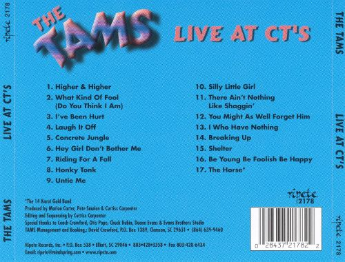 The Tams Live at CT's