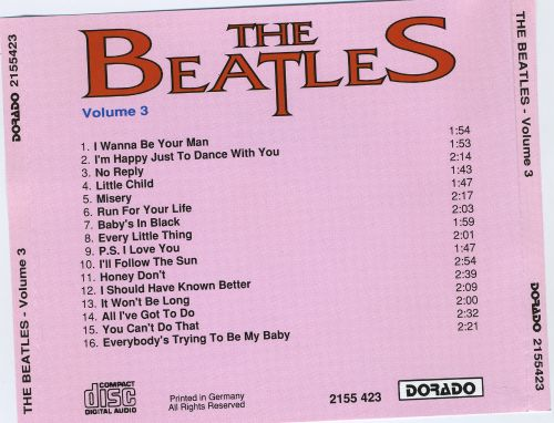 The Beatles: 16 Superhits, Vol. 3