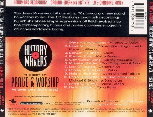 History Makers: The Best of Praise & Worship, Vol. 1
