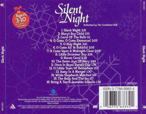 Silent Night [Madacy Kids]