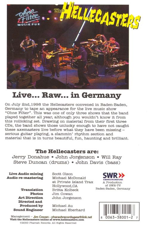 Live Raw in Germany