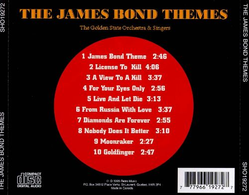 James Bond Themes [Showtunes]