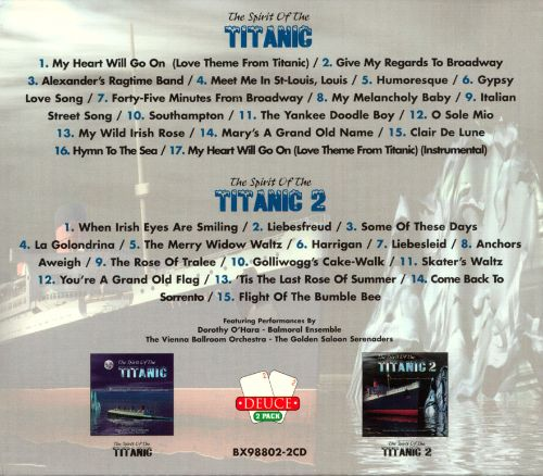 Spirit of the Titanic, Vols. 1-2