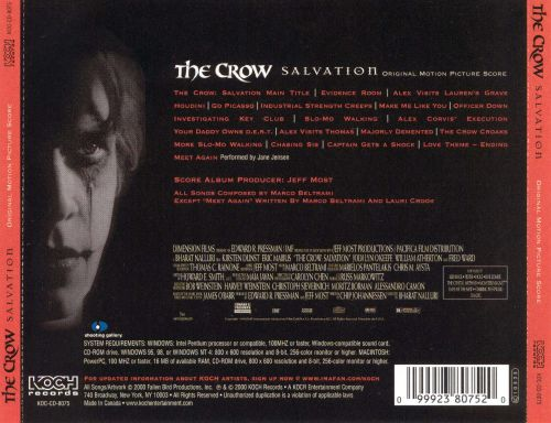 The Crow: Salvation [Score]