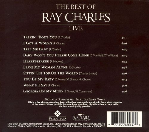 The Best of Ray Charles: Live