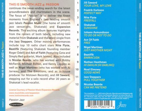 This Is Smooth Jazz, Vol. 4: Passion