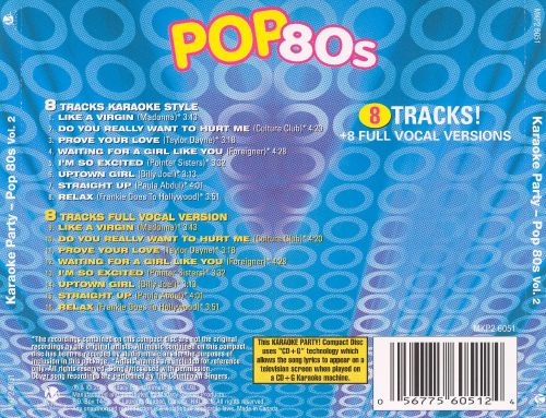 Karaoke Party - Pop 80s , Vol. 2