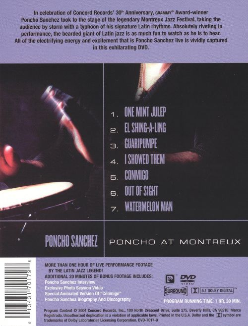 Poncho at Montreux