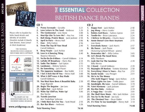 The Essential Collection: British Dance Bands
