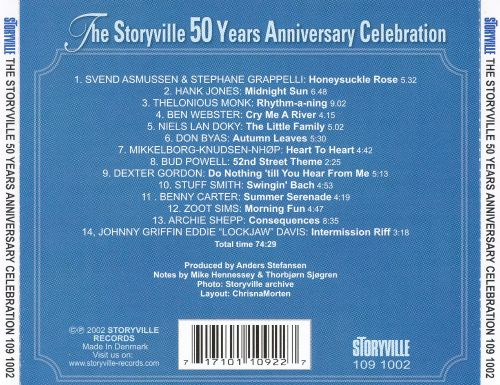 Storyville 50th Anniversary Celebration