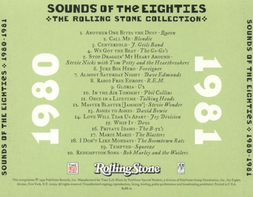 Sounds of the Eighties: The Rolling Stone Collection, 1980-1981