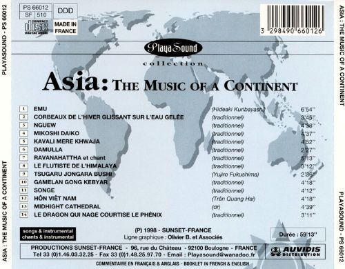 Asia: The Music of a Continent