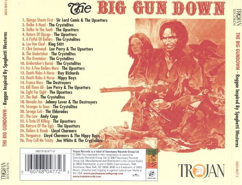The Big Gundown: Reggae Inspired by Spaghetti Westerns