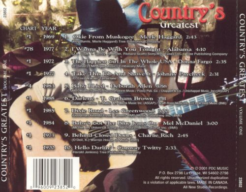 Country Greatest, Vol. 1