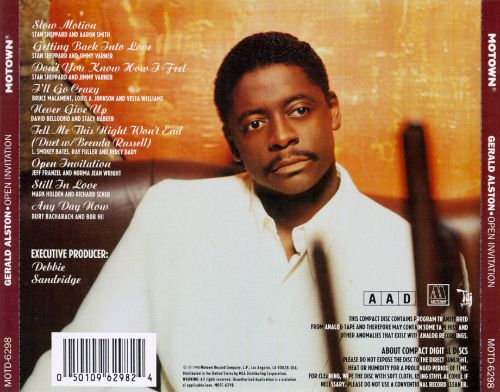 Open invitation gerald alston songs reviews credits allmusic open invitation open invitation stopboris Choice Image
