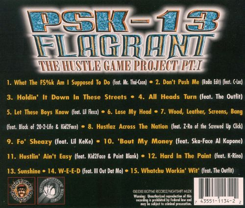 Flagrant: The Hustle Game Project, Vol. 1