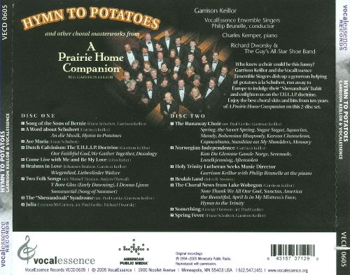 Hymn to Potatoes: And Other Choral Masterworks from a Prairie Home Companion