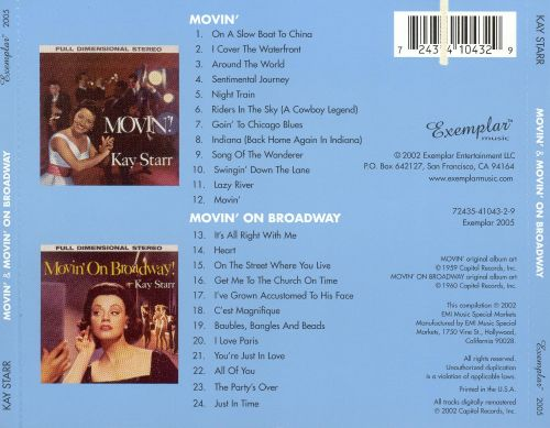 Movin'/Movin' on Broadway
