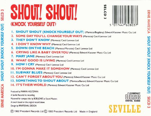 Shout Shout (Knock Yourself Out)