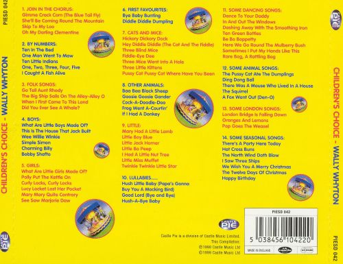 Childrens Choice: Traditional Songs & Nursery Rhymes