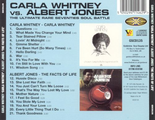 Carla Whitney/The Facts of Life
