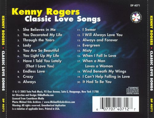 Classic Love Songs [Double Play]