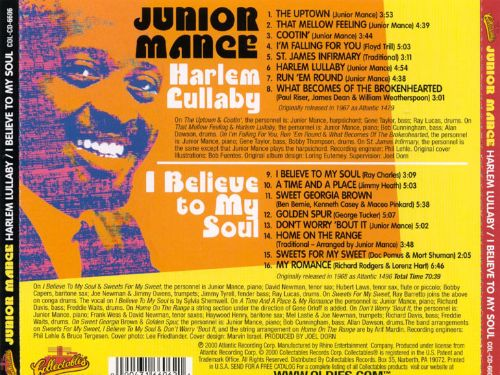 Harlem Lullaby/I Believe to My Soul