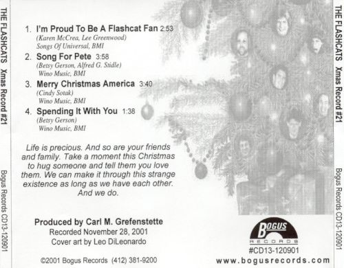Christmas Record #21: Proud to Be a Flashcat Fan