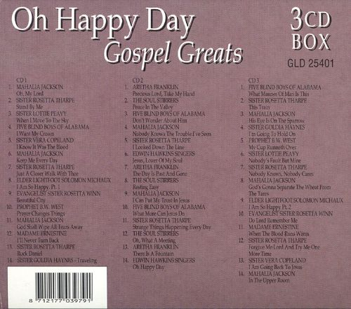 Oh Happy Day: Gospel Greats