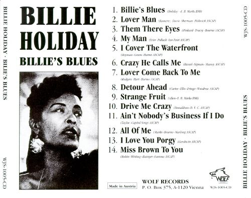 Billie's Blues [Wolf]