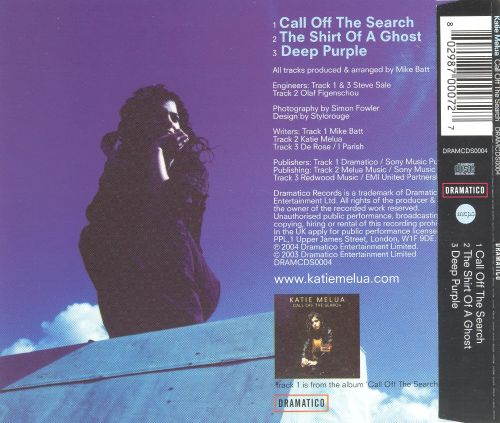 Call off the Search [3 Track Single]