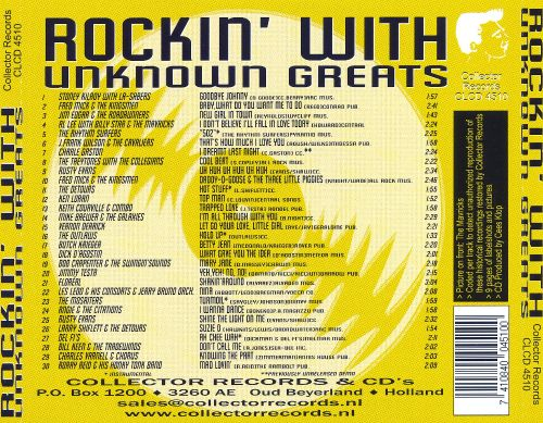Rockin' with Unknown Greats