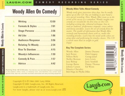 Woody Allen on Comedy