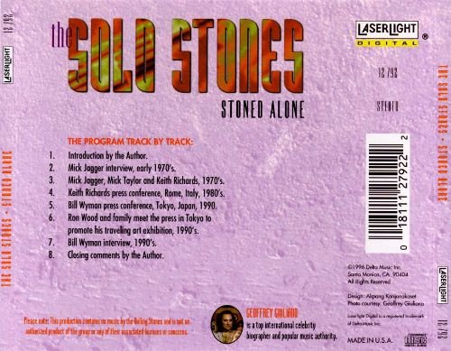Sold Stones: Stoned Alone