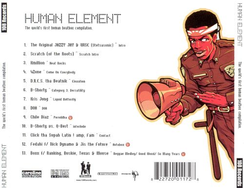 Human Element: The World's First Human Beatbox Compilation