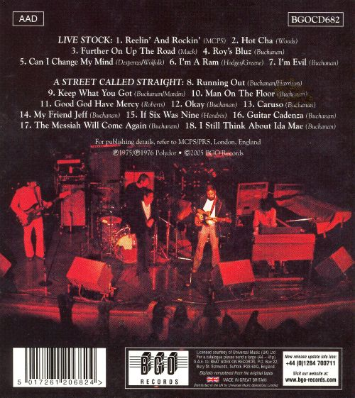 Live Stock/A Street Called Straight