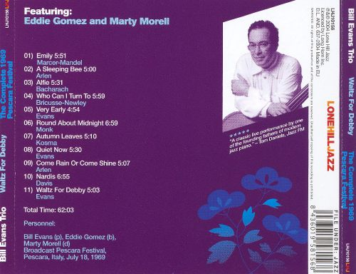Waltz for Debby: The Complete 1969 Pescara Festival