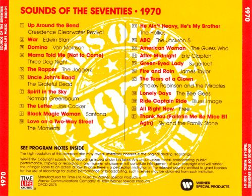 Sounds of the Seventies: 1970