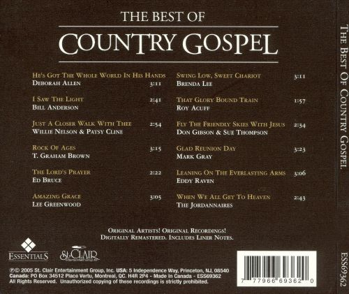 Country Gospel [St. Clair]