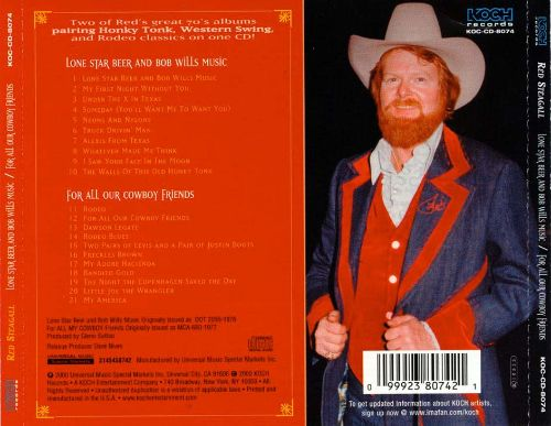 Lone Star Beer & Bob Wills Music/For All Our Cowboy Friends