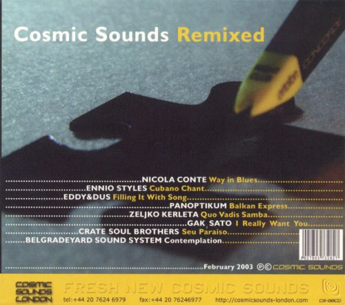 Cosmic Sounds Remixed