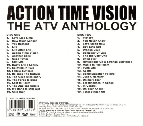 Action Time Vision: The ATV Anthology