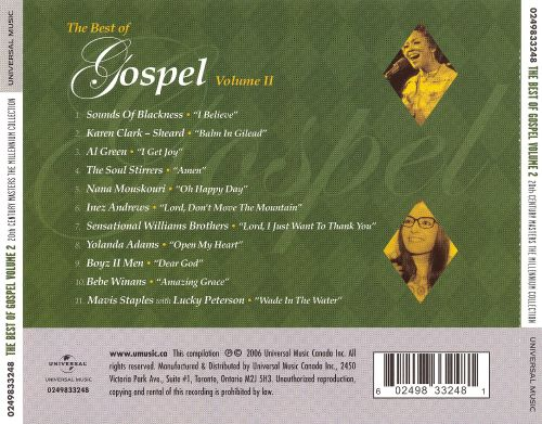 20th Century Masters: Best of Gospel, Vol. 2