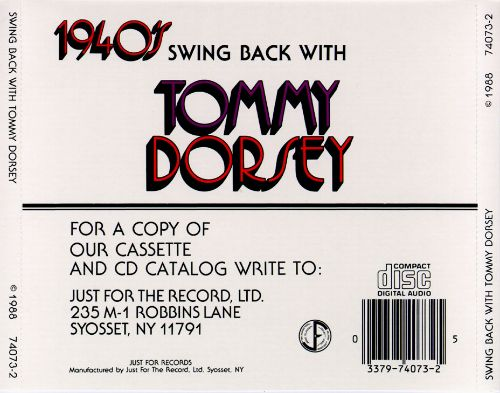 Swing Back with Tommy Dorsey