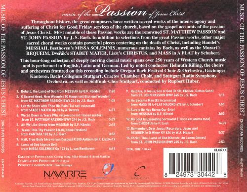 Music of the Passion of Jesus Christ