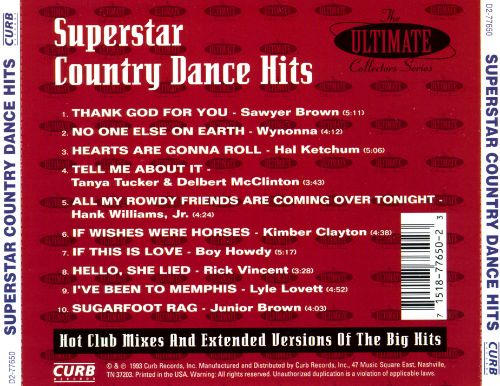 The Ultimate Series, Vol. 1: Superstar Country Dancin'