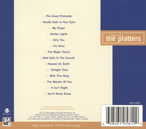 Best of the Platters [Madacy]