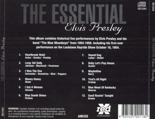 The Essential Elvis Presley [Red X]