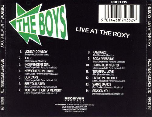 Live at the Roxy Club