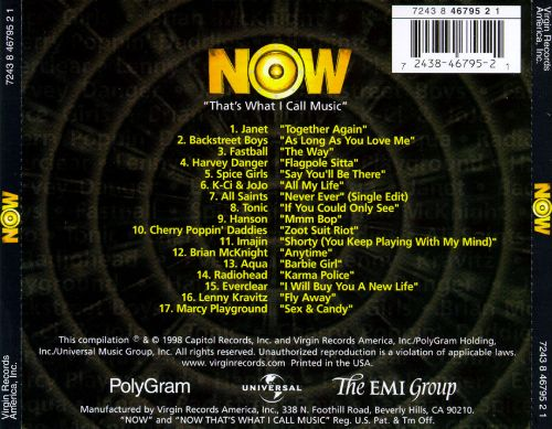 Now That's What I Call Music [1998]